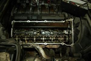 Замена прокладки двигателя M50