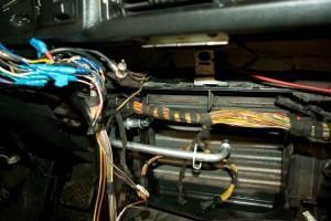 Снятие печки BMW E34