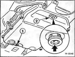 заменить масло КПП BMW E39