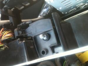 чистка печки BMW E34