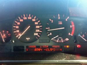 панели приборов в BMW Е39