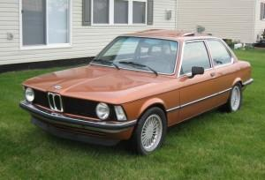 задняя балка BMW E21