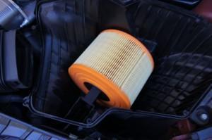 замена фильтра BMW-750L E38