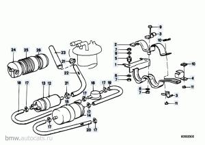 топливный фильтр BMW 525 5series