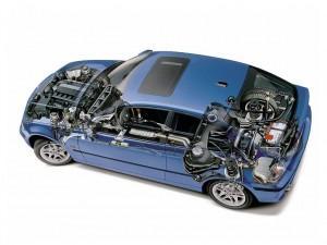 zamena масло на BMW 323i