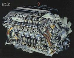 2,5-литровым M52
