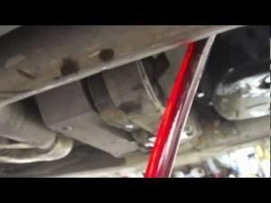 Замена масла BMW X3 E83
