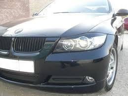 Ресничек на фары BMW E90