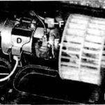 Инструкция по замене вентилятора отопителя на BMW E30