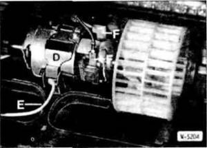 вентилятор отопителя на BMW E30