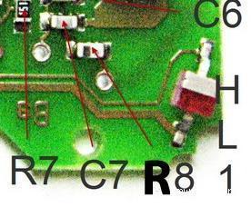 радиопередатчик ключа