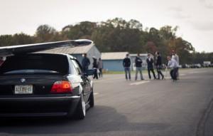BMW E38 бумер тестдрайв