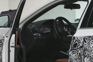 Шпионские фото салона BMW X4