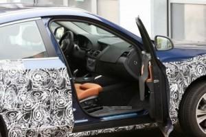 Шпионские фото салона BMW X4_1