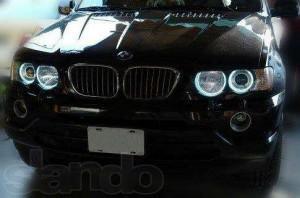 ангельские глазки на BMW X5 E53