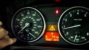 индикатор обслуживания(Service Indicator) на BMW E87