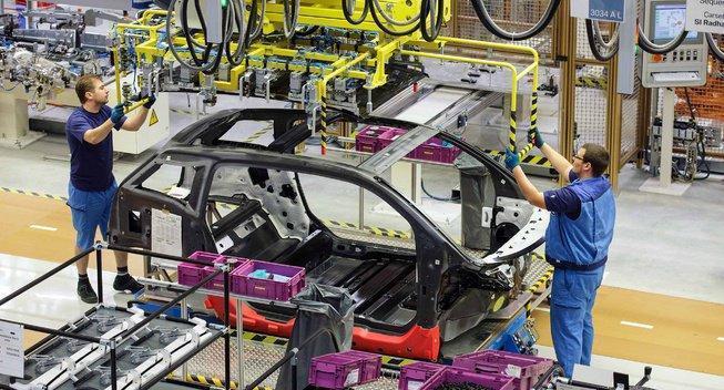 Видео обзор и производство нового BMW i3(на русском)