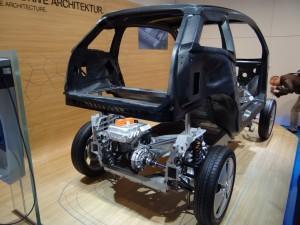 скелет BMW i3 (2013)