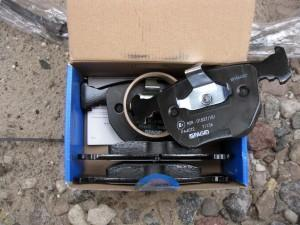 тормозные колодки на BMW E39