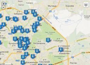 карта сервисов москвы