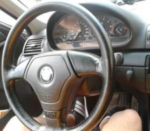 BMW 3 е46 новый руль