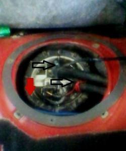 BMW 3 E36 топливный насос