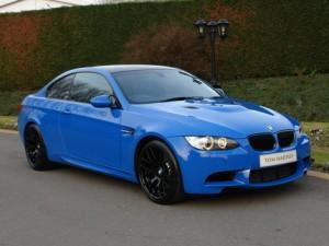 BMW M3 Santorini Blue