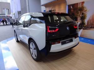 BMW i3 (2013) вид сзади