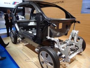 BMW i3 (2013) рама автомобиля