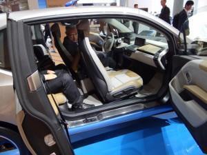 BMW i3 (2013) салон