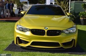 Концепт BMW M4 спереди