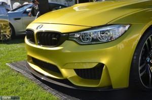 Концепт BMW M4 фары