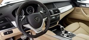 Фото BMW X6 hamann руль