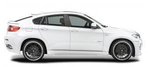 Фото BMW X6 hamann сбоку
