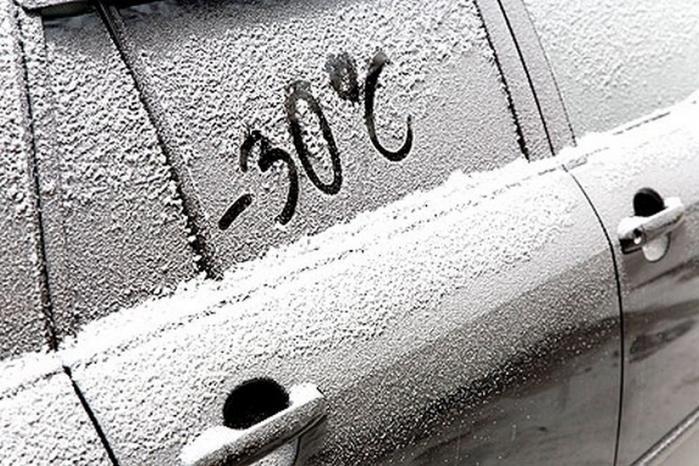 заводить автомобиль в мороз