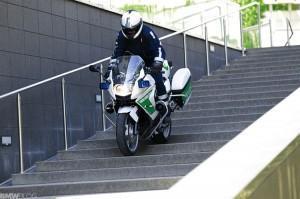 концепт мотоцикла BMW C для полиции