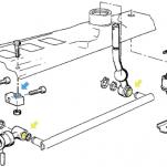 Как убрать люфт кулисы КПП на BMW e30