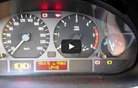 ошибка тормозных колодок на BMW e46