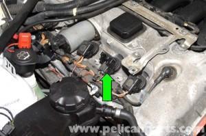 разьем зажигания BMW E90