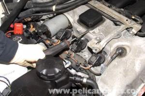 снимаем катушку BMW E90_2