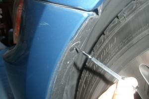 удаление петель бампера BMW Z4(