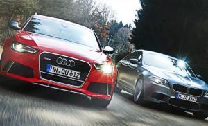 Audi RS6 Avant против BMW M5