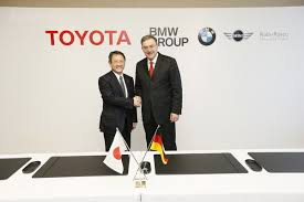 BMW и Toyota гибрид