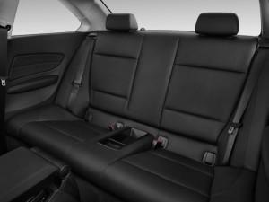 BMW 135i 2013 задние сидения