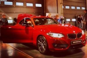 BMW 220i В салоне