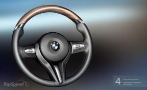 BMW 8 серий 2013 руль