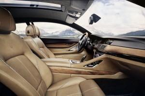 BMW 8 серий 2013 салон