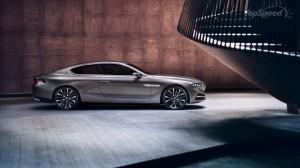 BMW 8 серий 2013 сбоку