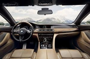 BMW 8 серий 2013 торпеда