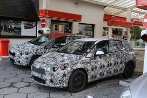 BMW Active Tourer шпионское фото